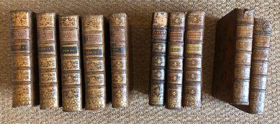 Lot de livres reliés dont Pastorale parisienne...