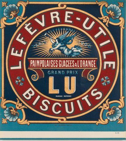 BISCUITS LEFEVRE-UTILE. Paimpolaises glacées...