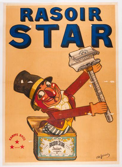 JARACH Albert. Rasoir Star. Kampfe Bros New...