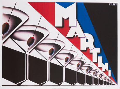 FORNEY Steve. Martini. 1999. Affiche offset....