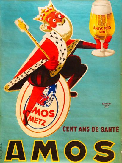 GAY Raymond. Amos cent ans de santé. Amos...