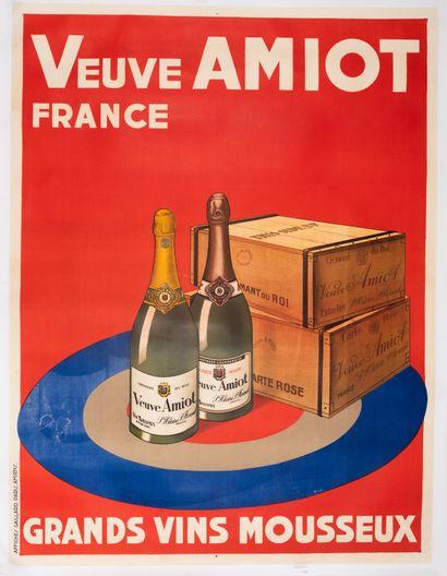 ANONYME. Veuve Amiot France. Grands Vins...