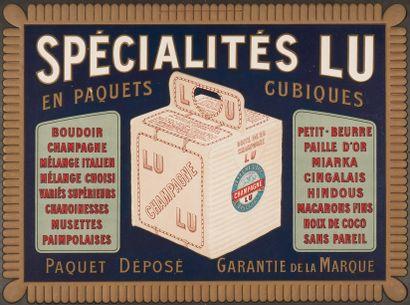 LEFEVRE-UTILE NANTES. Spécialités LU en paquets...
