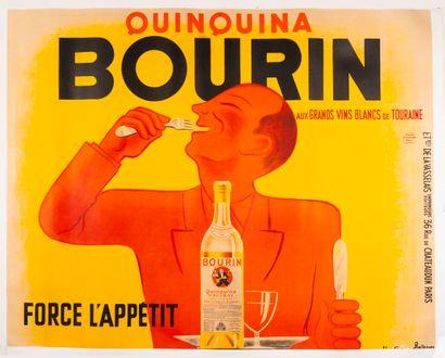 BELLENGER Pierre et Jacques. Quinquina Bourin....
