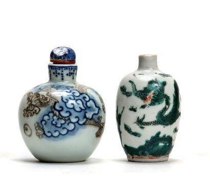 CHINE - XIXe et XXe siècle