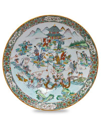 CHINE, Canton - XIXe siècle