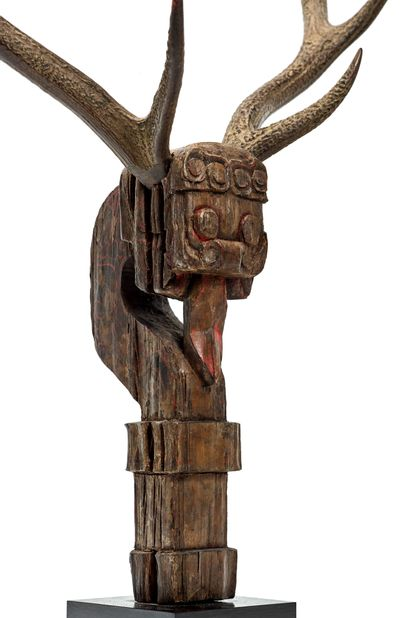 CHINE, royaume de chu - Royaumes Combattants (480 -221 av. JC.) Gardien de tombe...