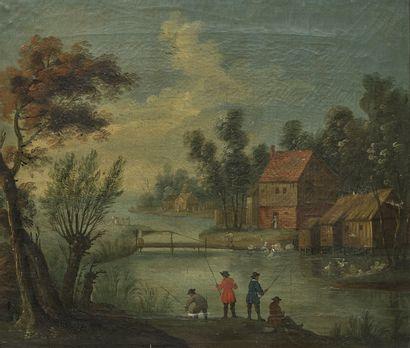 Ecole FLAMANDE, du XVIIIème siècle