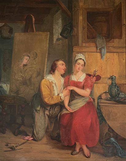 Charles VENNEMAN (1802-1875) attribué à