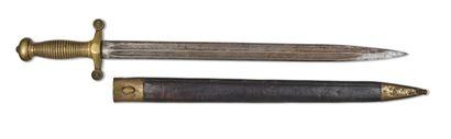 Glaive d'infanterie modèle 1855 Monture en...
