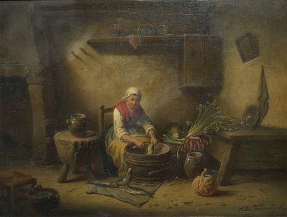 Felix van den EYCKEN (Actif en Belgique au XIXe siècle)