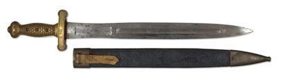 Glaive d'artillerie modèle 1816 Monture en...