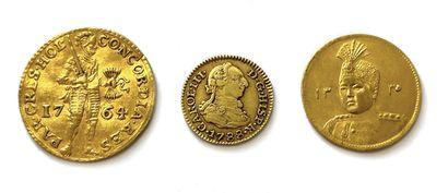 # Monnaies et Médailles étrangères Hollande...