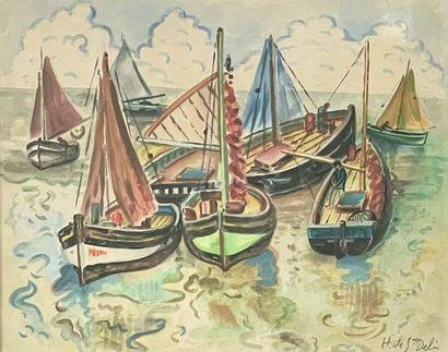 Henri de SAINT DELIS (1878-1949)