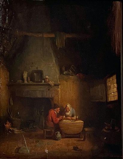 Charles VENNEMAN (Gand 1802 - Bruxelles 1875)
