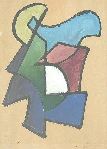 Emile LAHNER (1893-1980)