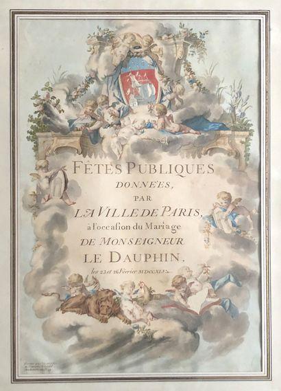 Jacques-François BLONDEL (Rouen 1705-Paris 1774) Charles-Dominique EISEN (Valenciennes...