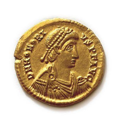 # Monnaies Antiques Honorius (393-423) Solidus...