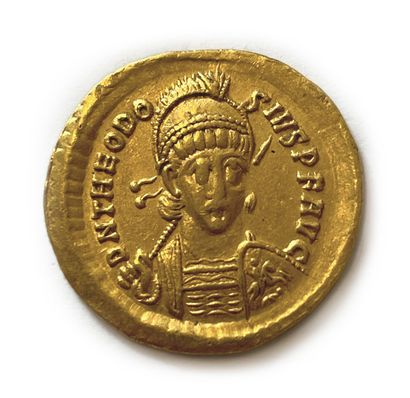 # Monnaies Antiques Théodose II (408-450)...