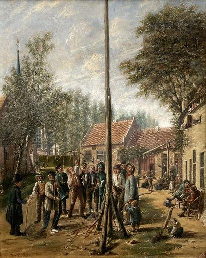 Joseph BLES (La Haye 1825-1875)