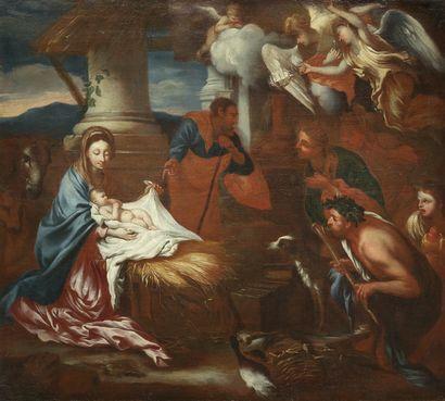 Ecole GENOISE, de la seconde moitié du XVIIème siècle suiveur de Giovanni Benedetto CASTIGLIONE