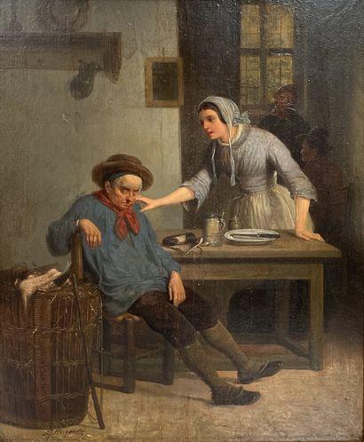 Norbert Joseph HORGNIES (Actif vers 1830-1870)