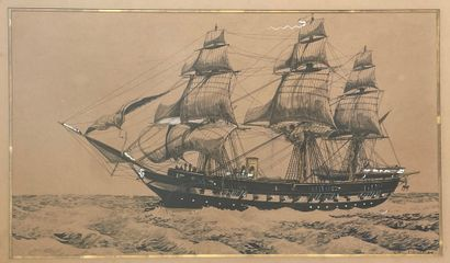 Matteo FALCONE (XIX-XX), peintre de la marine