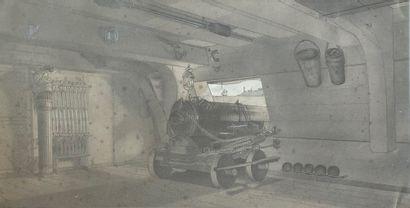 ÉCOLE FRANÇAISE, début du XXe siècle