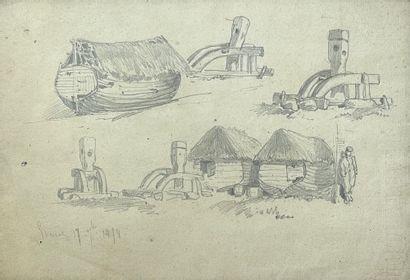 Charles Théodore SAUVAGEOT (1826-1883) attribué à