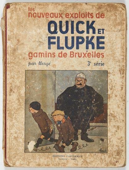 Quick et Flupke N&B - 3ème série: Pages...