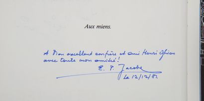 Jacobs/Attanasio - dédicaces: