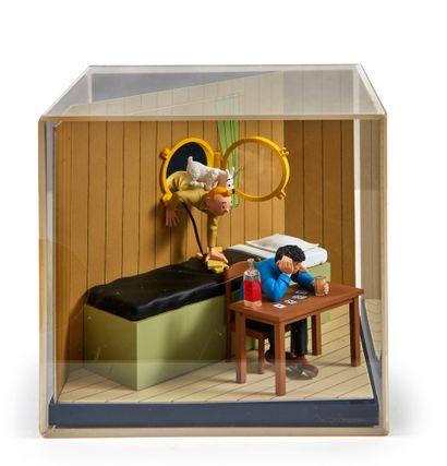 Tintin/Moulinsart -Tintin découvre Haddock:...
