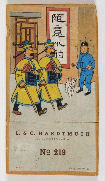 Tintin - Boîte de crayons Hardtmuth: Superbe...