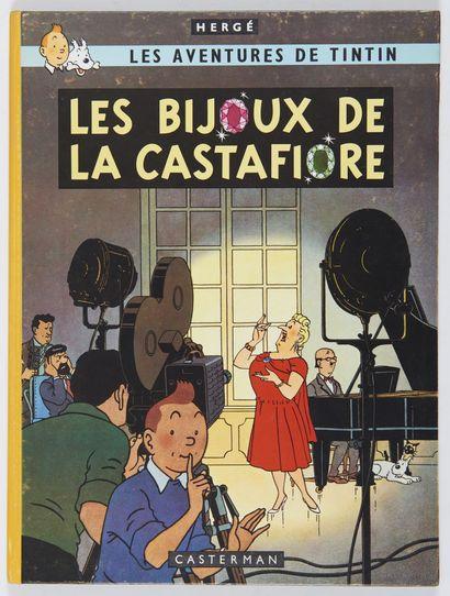 Tintin - Les bijoux de la Castafiore: Edition...