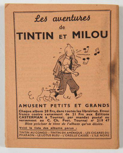 Tintin - Almanach de Liège 1940: Rare petit...