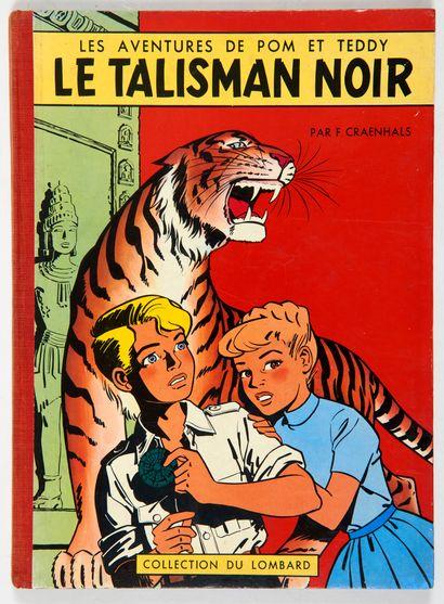 Pom et Teddy - Le talisman noir: Edition...