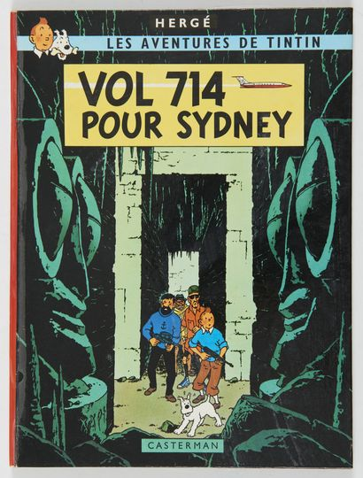 Tintin - Vol 714 pour Sydney: Edition originale...