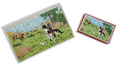 Tintin - Puzzle Tintin en Amérique: Superbe...