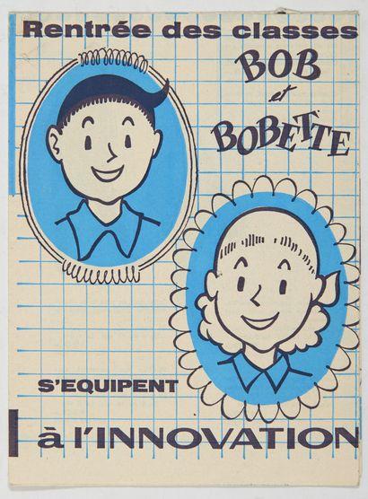 Bob et Bobette - Publicité pour L'Innovation:...