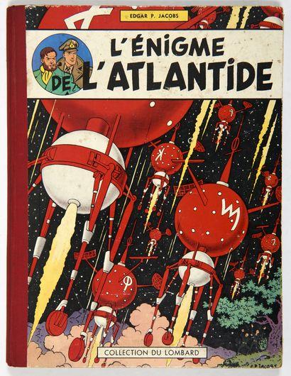 Blake et Mortimer - L'énigme de l'Atlantide:...