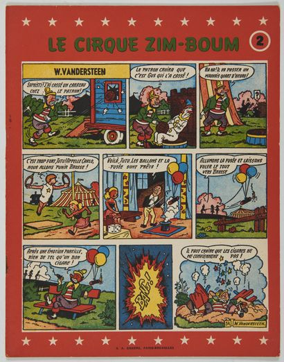 Cirque Zim-Boum 2: Edition originale brochée...