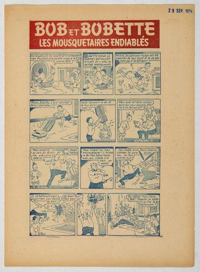 Bob et Bobette - Fascicule publicitaire de...
