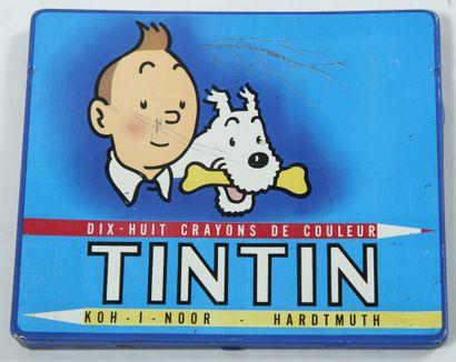 Tintin - Boîte de crayons Hardtmuth: Jolie...