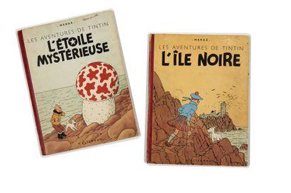 Tintin - Ensemble de 2 albums: Etoile (B2,...