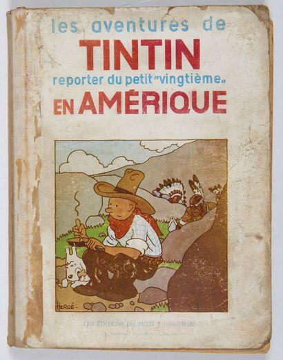 Tintin N&B - En Amérique: Edition originale...