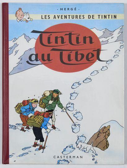 Tintin - Au Tibet: Edition originale française....