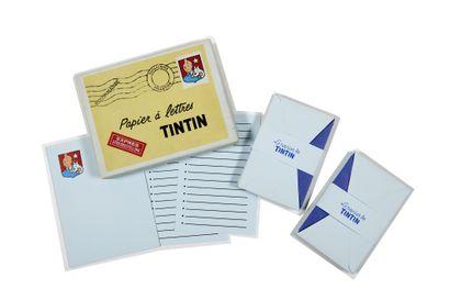 Tintin - Papier à lettre Pelletier: Ancienne...
