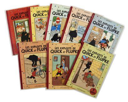 Quick et Flupke - Ensemble de 8 albums:...