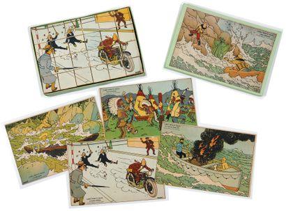 Tintin - Jeu de cubes Dubreucq: Superbe...