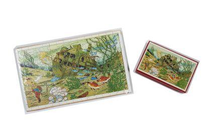 Tintin - Puzzle Le trésor de Rackham Le Rouge:...